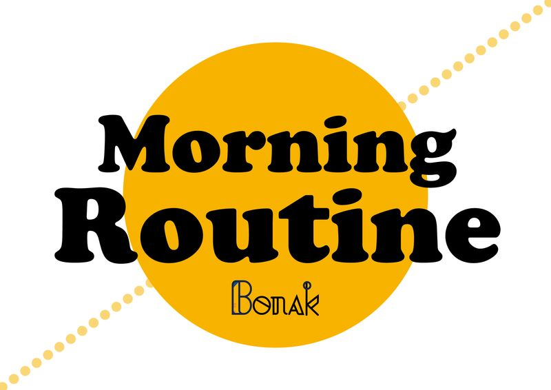 晨間習慣訓練步驟 Morning Routine